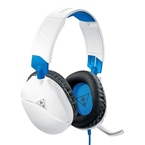 Turtle Beach Recon 70P White Gaming Headset - PS4, PS5, Xbox One, Nintendo Switch y PC